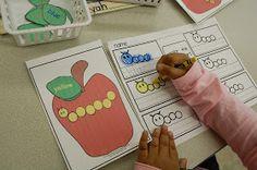 Little Warriors: Apple Math and Literacy Centers