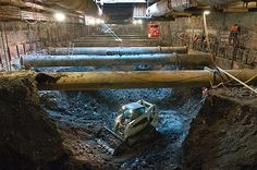 """Image: 2nd Avenue Subway (© NYC MTA),, Photographer Patrick Cashin: """"It just hits you how big, how much digging they had to do to get this cavern made. It's just amazing."""""""