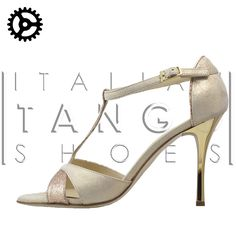 irresistible!!!  Mariposa in beige leather and bronze glitter fabric  http://www.italiantangoshoes.com/shop/en/home/254-alagalomi.html