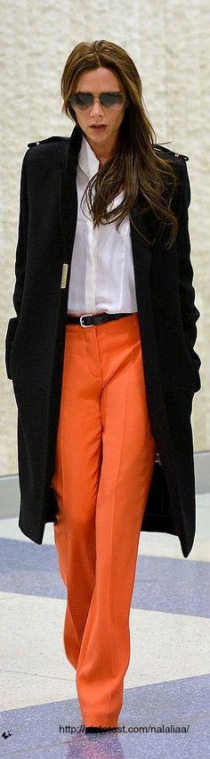 Street style - Victoria Beckham #Mylifemystyle
