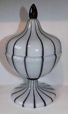 Loetz Michael Powolny Tango Glass Lidded Jar Vase  Art Deco Jugendstil Rare
