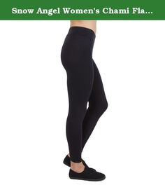 Snow Angel Women's Chami Flatter Fit Leggings, Black, X-Large. Never leave home without our Chama flatter fit leggings. Great for yoga, cycling, running or the slopes this versatile legging is the ideal weight for multi-sport activities. Stretchy, fleecy and wicking, this power legging is unbeatable. Featuring the signature Snow Angel flatter-fit waistband, small key pocket and cotton gusset, our legging is a number one fan favorite.