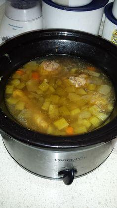 Best Chicken Soup in a Crock Pot
