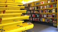 New York's only architecture bookstore. Van Alen Books, West 22nd Street in Chelsea.