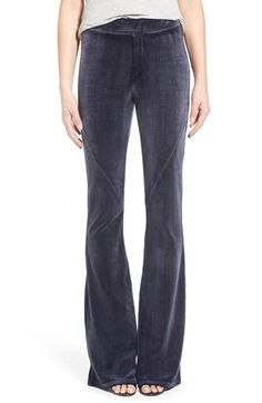 Pam & Gela Velour Flare Pants available at #Nordstrom