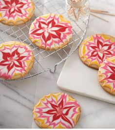 Colorful Floral Cookies - @joannstores