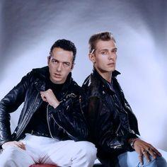 Joe Strummer & Paul Simonon