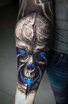 Männer 3d tattoos arm 45 Best
