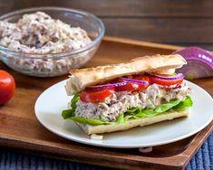 Pecan Tuna Sandwich - the last sandwich you will ever need | CookingGlory.com