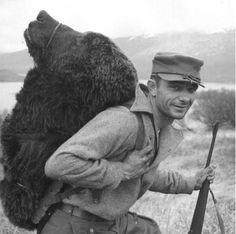 William A. Troyer, A happy hunter. Bear hunting is an important recreational sport on the refuge, Kodiak National Wildlife Refuge, Alaska, 11 May Big Game Hunting, Bear Hunting, Trophy Hunting, Hunting Suit, Hunting Season, Catholic Gentleman, Hunting Pictures, Bear Head, Bowfishing