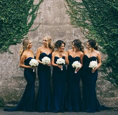 Bridesmaid in Blue..