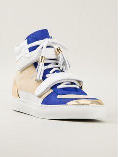 Louis Leeman Paris Hitop Sneaker in Blue for Men (nude & neutrals)