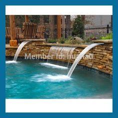 cascata pedra para piscina preço - Pesquisa Google