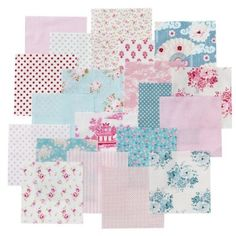 Tilda Country Escape Charmpack - Fabric Bundles - Fabric Stitch Craft Create craft supplies