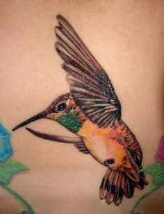 hummingbird tattoo by asussman.deviantart.com on @deviantART