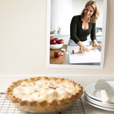 A homemade apple pie is definitely a labor of love -- what better reason to make one? If this is your first attempt, don't worry if the crust has a tear or two; the pie will still be juicy and delicious. Pie-making just takes a little patience -- but watching your friends and family enjoy the results makes it all worthwhile.