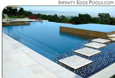 pools | Infinity Edge Pools, Custom Swimming Pool by International Pool ...