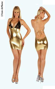 976036019942 Stretch Lame' Mini Dress - SassyAssyClubwear. ClubwearSequinsV ...