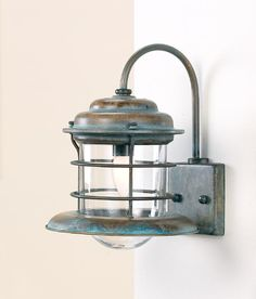 One Light Wall Sconce from the Caravela Collection - GoNautical