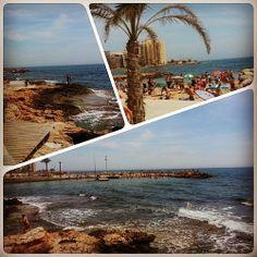 Espléndida mañanita de paseo a la orilla del #mar en #Torrevieja con la #playa «abarrota» de turistas impacientes por darse el último chapuzón antes del viaje de regreso. #ig #igers #igerstorrevieja #Instagram #Instagramers #alacant #alicante #costablanca
