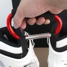 Red Largest Jumbo Snap Hook Stroller Hook Hanger Bags Holder Carrier Carabiner