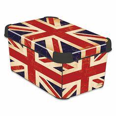 Curver® Deco StockholmLine British Flag Storage Box - BedBathandBeyond.com