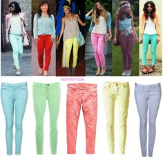 Image detail for -... Jeans | Fashion Trends Neon & Pastel Colours | Fashion Mate