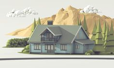 Sparebanken Sør Bank - 'Home Loans' Illustration on Behance