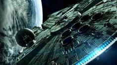 The Millenium Falcon wallpaper