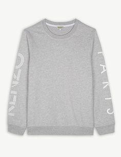 KENZO Logo cotton-blend jumper 4-16 years