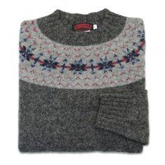 3694e27232 O Connell s Womens Scottish Shetland Sweater - Fair Isle - Oxford Pullover  Sweaters
