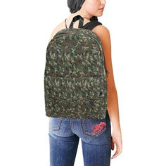 Online shopping for Girls' Back-to-School Essentials from a great selection at Clothing, Shoes & Jewelry Store. Nylons, Camouflage Backpack, Army Print, Back To School Shopping, High School, Back To School Essentials, Backpack For Teens, Feather Pattern, Waterproof Backpack