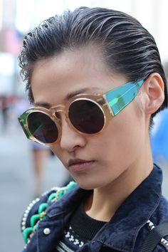 Cacharel spring/summer eyewear 2013 Wang Xiao - beauty inspiration for GLOWLIKEAMOFO.com
