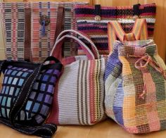Handwoven Bags and Totes with Connie Westbrook June 3 - 8, 2014 www.sieversschool.com