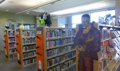 Halloween 2014 display at the Temecula Public Library Teen Zone.