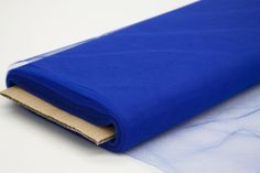 Tulle Fabric Bolt Roll 40 yards - Royal Blue