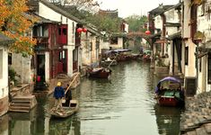 Water Village of Zhouzhuang in China