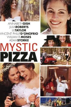 Mystic Pizza - Yes, it's a bit of a girly affair, but waitressing triumvirate Annabeth Gish, Julia Roberts and Lili Taylor have undeniable on-screen chemistry in Mystic Pizza, not to mention Leona – the pizzeria's proprietor and guardian of the titular menu item's secret recipe. Fun fact: Mystic Pizza features the movie debut of a young Matt Damon.