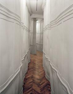 // One of my favorite thing: This floor!! Fishbone!! :)