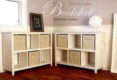 Ana White | 6 Cube Bookshelf - DIY Projects