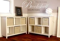 Ana White   Build a 6 Cube Bookshelf   Free and Easy DIY Project and Furniture Plans