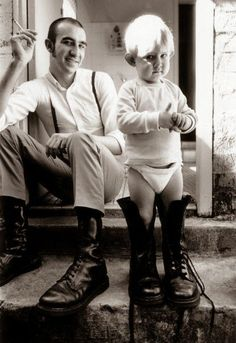 Not a pin of a cat  -I know , but these Boots were definitely made for a little man to walk in ! I Subculture - Skinhead, Subculture - Skinhead, A blog all about skinhead fashion.