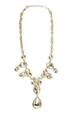 Elegant Crystal Statement Necklace | DAILYLOOK