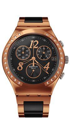 El reloj Swatch Dreamnight Rose (codigo: YCG404G), de la gama Swatch Irony Chrono Standard Plus, es preciso y elegante y está dirigido tanto a los hombres como a las mujeres.