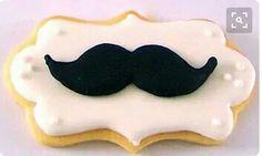 Galleta decorada bigote