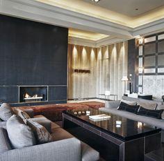 Ideas para pintar salones. Hotel Arts
