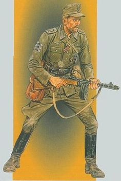 Dragon Models Wehrmacht Officer Eastern Front 1943 -- Plastic Model Military Figure -- 1/16 Scale -- #1601