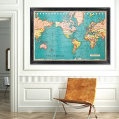 Cork board world map cork boards cork and board framed world maps printed on actual corkwe spent many hours working on gumiabroncs Image collections
