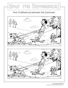 Free Download Find The Difference Printable