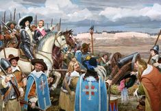 Three Musketeers by Russian Illustrator Denis Gordeev ~ Blog of an Art Admirer
